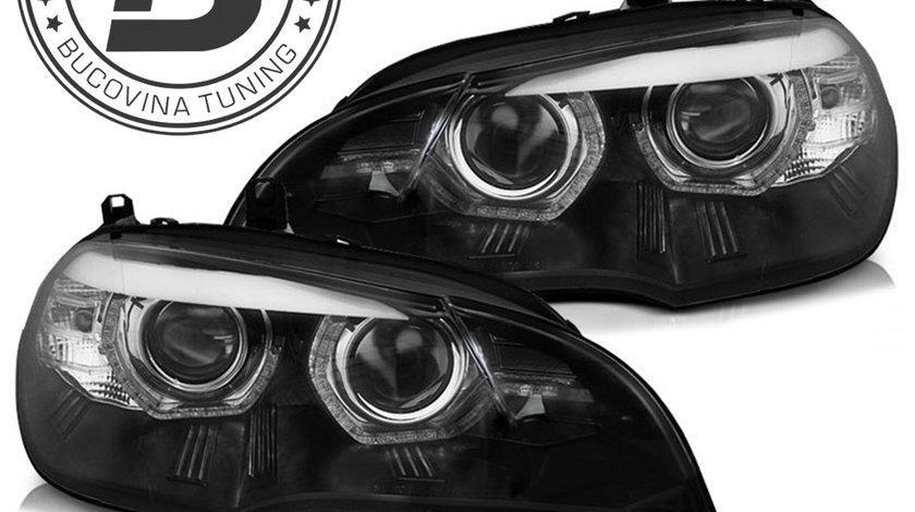 Faruri LED 3D BMW X5 E70 (07-10)