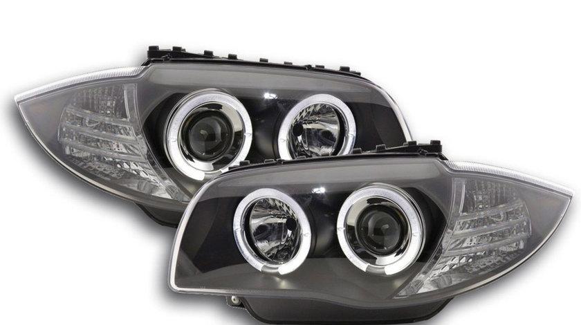 Faruri LED Angel Eyes BMW E81 E82 E87 E88 Seria 1