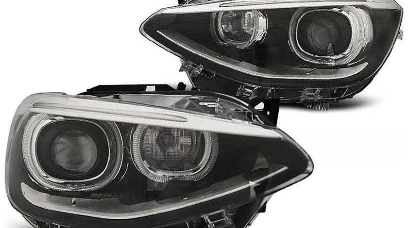 Faruri LED Angel Eyes BMW F20 F21 Seria 1