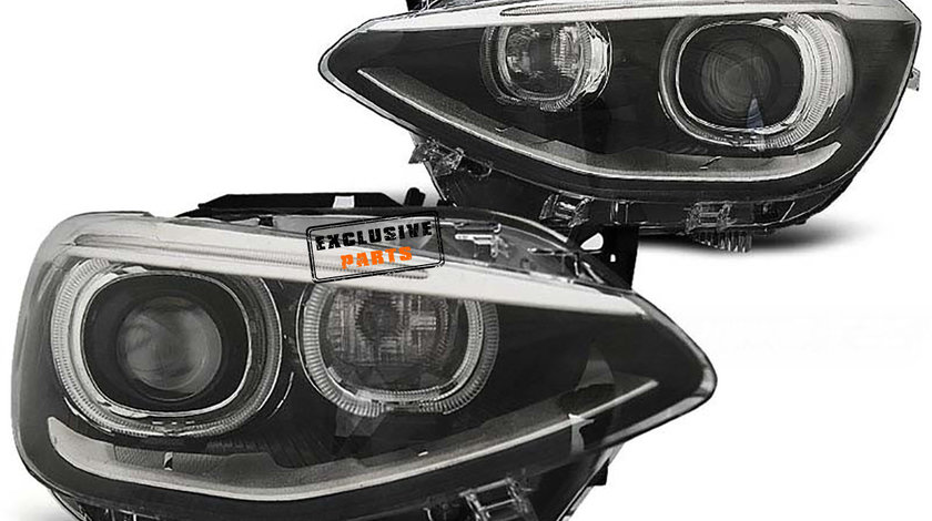 Faruri LED Angel Eyes BMW Seria 1 F20/ F21 (11-15)