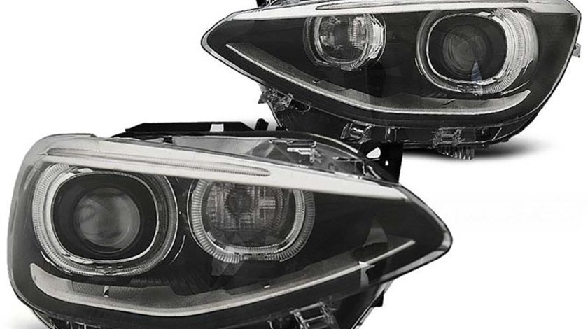 Faruri LED Angel Eyes BMW Seria 1 F20/F21 (2011-2015)