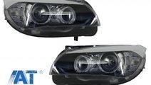 Faruri LED Angel Eyes compatibil cu BMW X1 E84 (20...