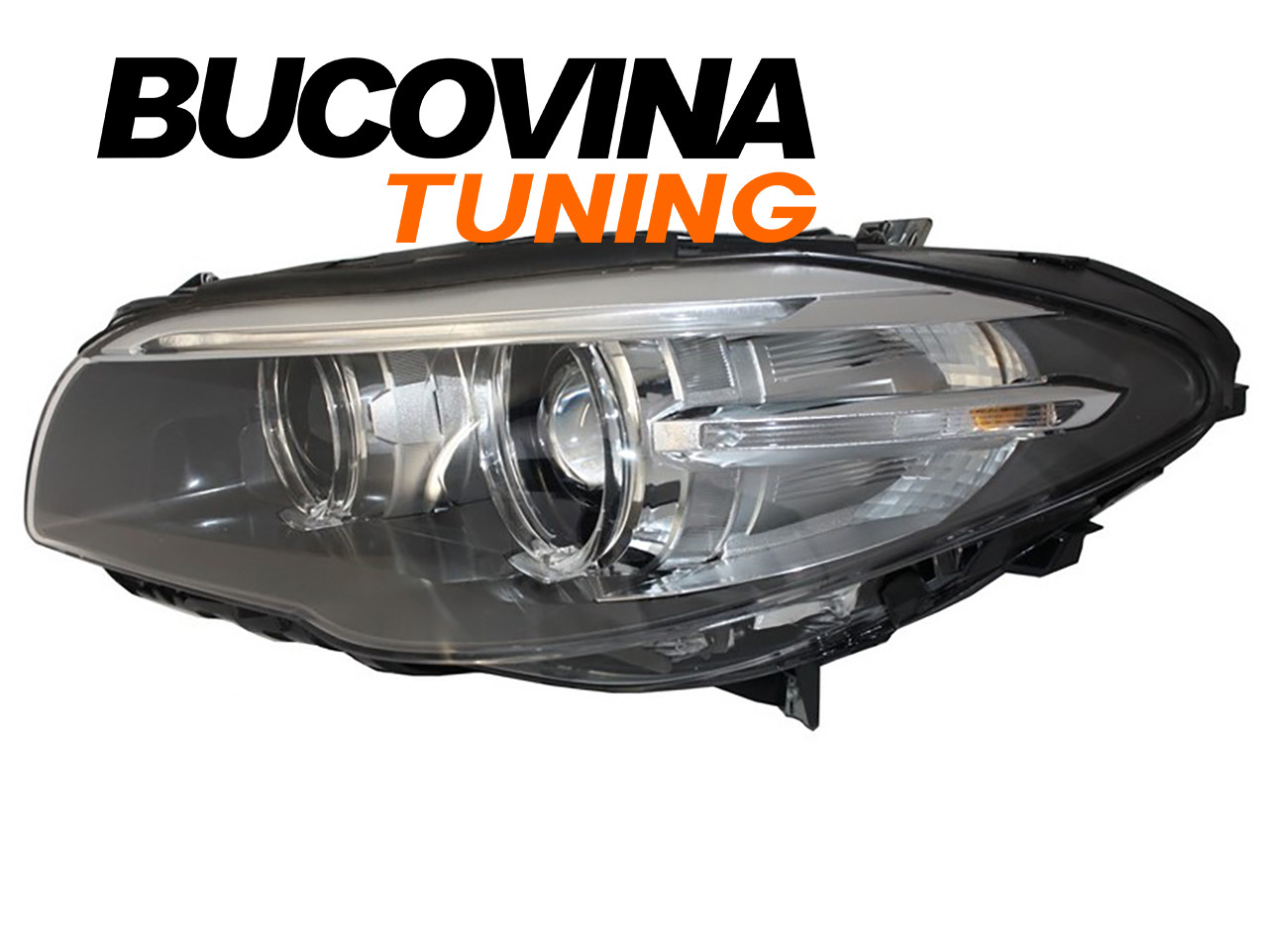Faruri LED Bi-Xenon BMW Seria 5 F10/ F11 (10-14) Facelift Design