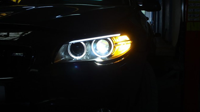 Faruri LED Bi-Xenon BMW Seria 5 F10/ F11 (10-14) Facelift Design