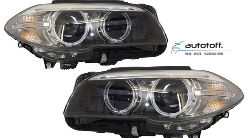 Faruri LED Bi-Xenon BMW Seria 5 F10/F11 (2010-2014) Facelift Design