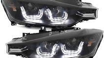 Faruri LED BMW Seria 3 F30/F31 (2011-2014) Black X...