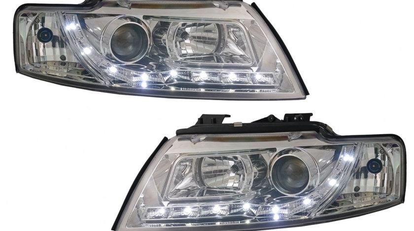 Faruri LED DRL Audi A4 B6 (00-06)
