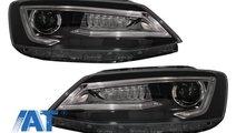 Faruri LED DRL compatibil cu VW Jetta Mk6 VI Non G...