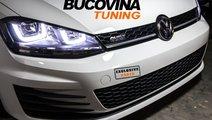 FARURI LED + GRILA GTI R20 VW GOLF 7