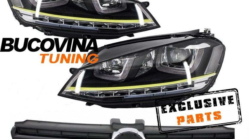 FARURI LED + GRILA R400 VW GOLF 7