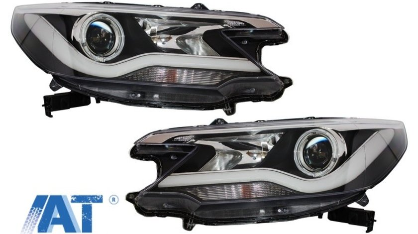 Faruri LED LightBar compatibil cu HONDA CR-V 2012-2014 RM IV Facelift Look