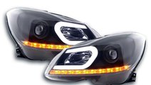 Faruri LED Mercedes Benz C-Class W204 Facelift (20...