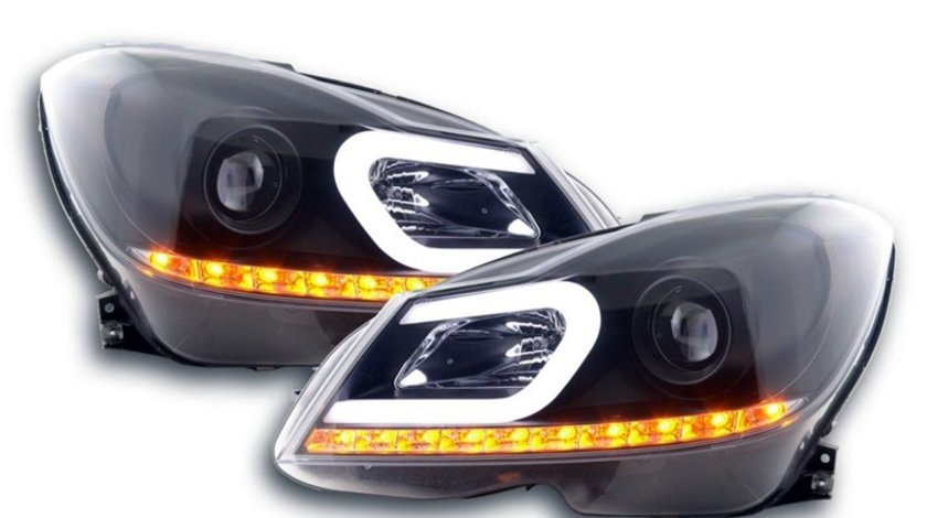 Faruri LED Mercedes Benz C-Class W204 Facelift (2011-2014)