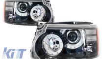 Faruri LED Range Rover Sport L320 (2009-2013) Face...
