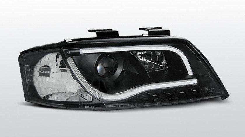 Faruri Led Tube Lights Audi A6 97-01 Negru