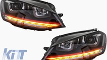 Faruri LED Volkswagen Golf 7 2012-up R20 GTI Desig...