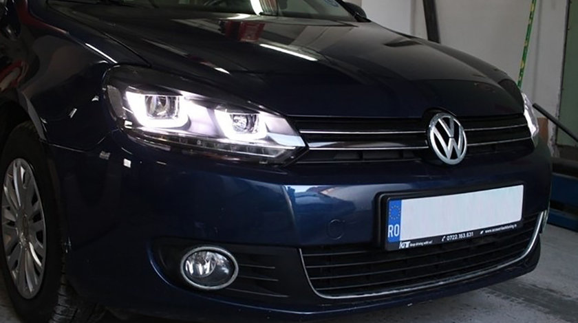 Faruri LED VW Golf 6 (08-12) U Design