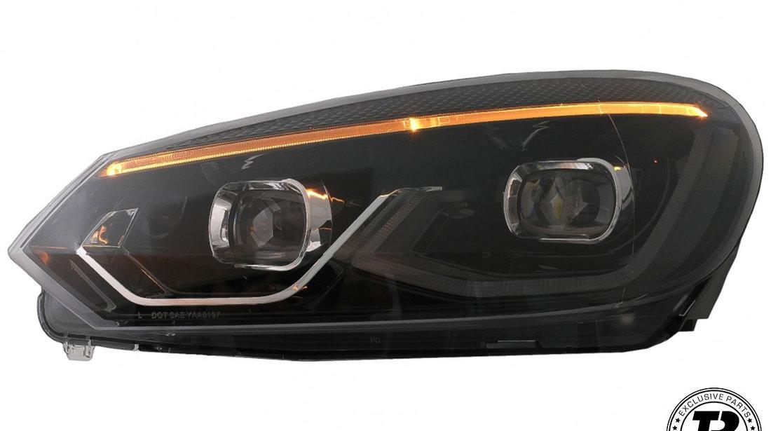 Faruri LED VW Golf 6 VI (2008-2013) conversie Golf 8 Look
