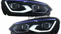 Faruri LED VW Golf 6 VI (2008-2013) Golf 8 design
