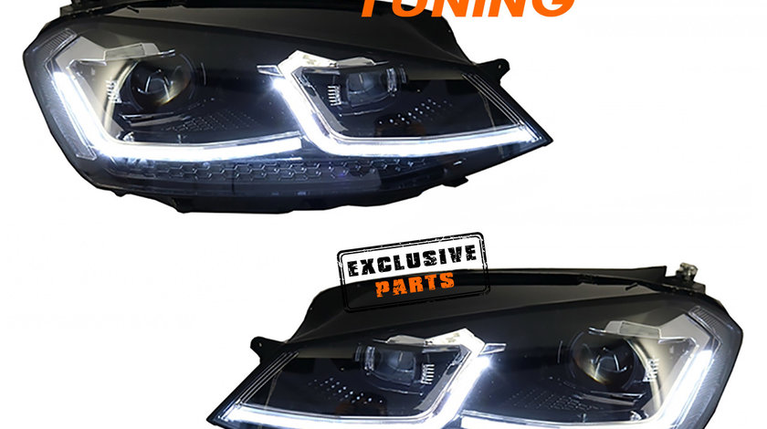 Faruri LED VW Golf 7 (12-17) Facelift G7.5 R-Line Design