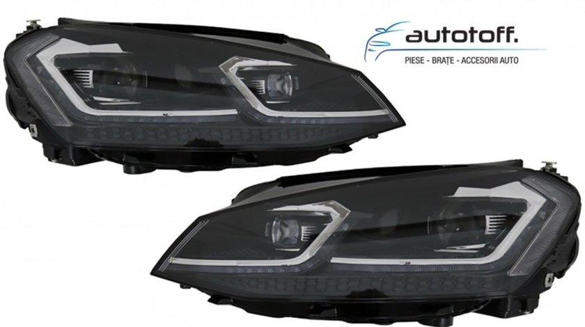 Faruri LED VW Golf 7 (2012-2017) Facelift G7.5 R-Line Design