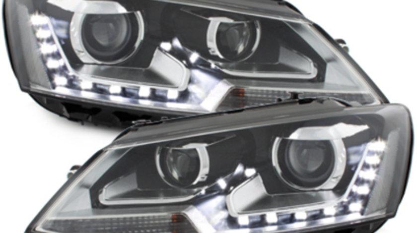 Faruri LED VW Jetta 2011-2013 Interior negru