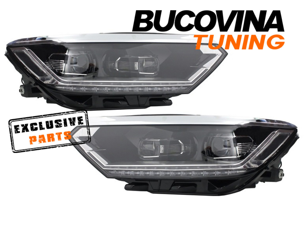 FARURI LED VW PASSAT B8 (DUPA 2014) MATRIX LOOK