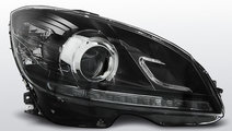 Faruri Mercedes W204 2007-2010 Daylight model Negr...