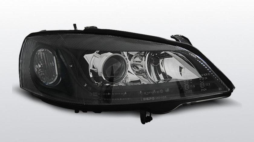 Faruri Opel Astra G 1997-2004 Daylight Negru