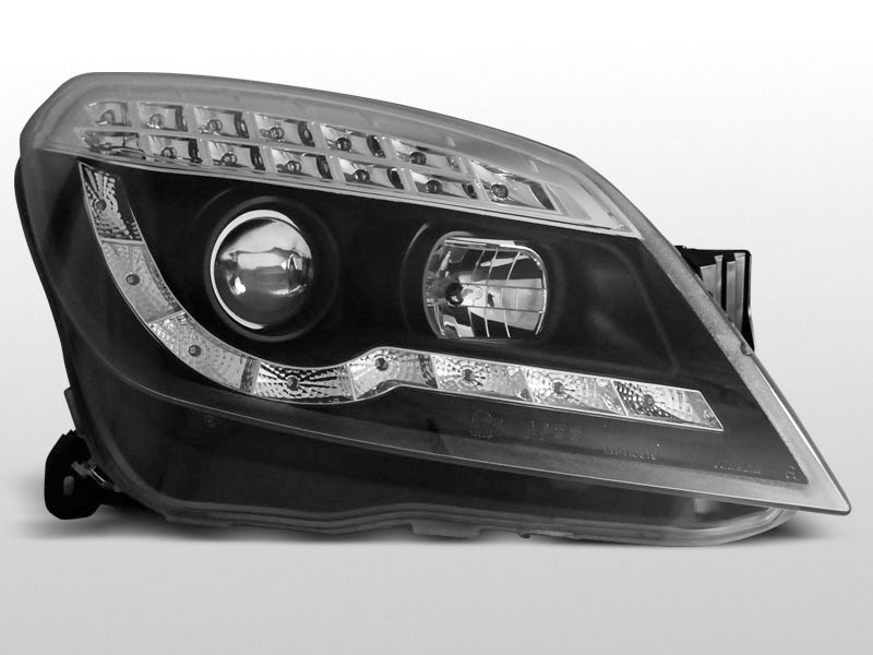 Faruri Opel Astra H 2004-2010 Daylight Negru