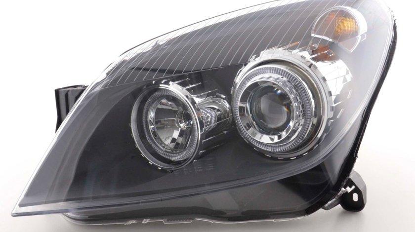 Faruri Opel Astra H angel eyes