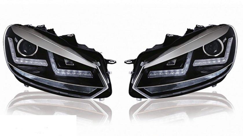 Faruri Orsam LED VW Golf 6 (2008-2012) Crom Design