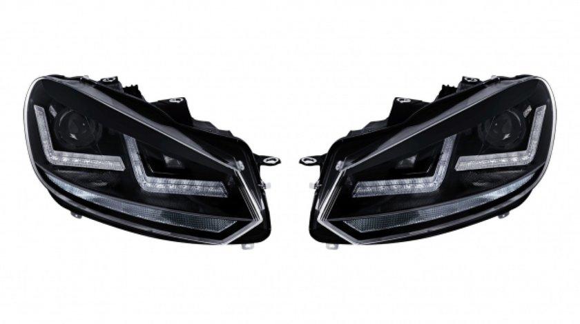 Faruri Osram LED VW Golf 6 (08-12) Black Design