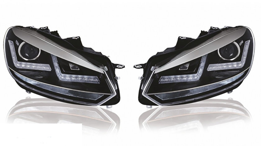 Faruri Osram LED VW Golf 6 (08-12) Crom Design