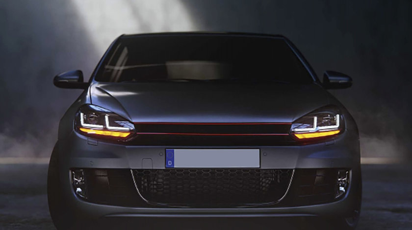 Faruri Osram LED VW Golf 6 (08-12) GTI Red Design