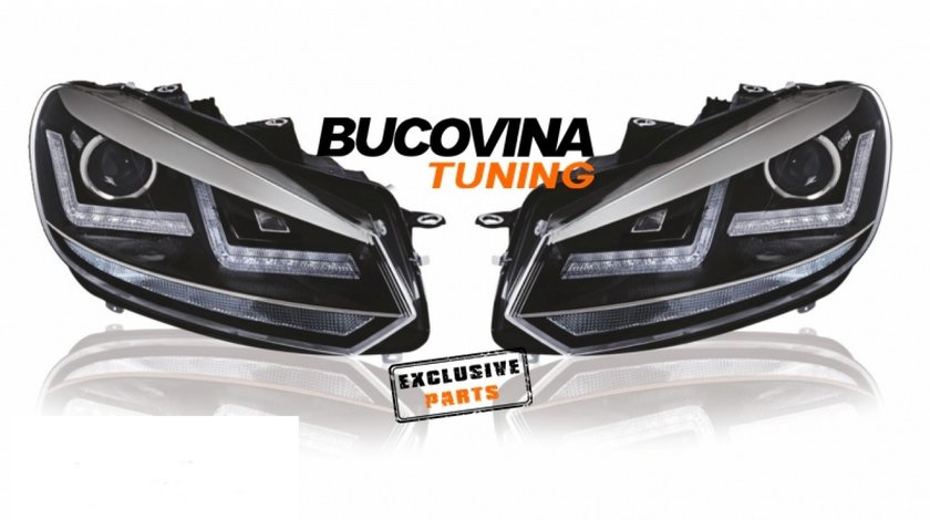 FARURI OSRAM LED VW GOLF 6 (08-13) CROM DESIGN