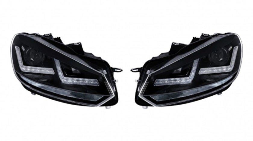 Faruri Osram LED VW Golf 6 (2008-2012) Black Design