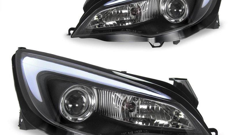 Faruri pentru Opel Astra J model 2009-,cu bara LED