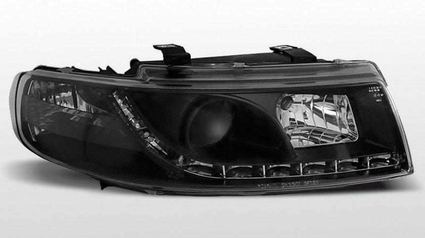Faruri Seat Leon Toledo 99-04 Daylight negru