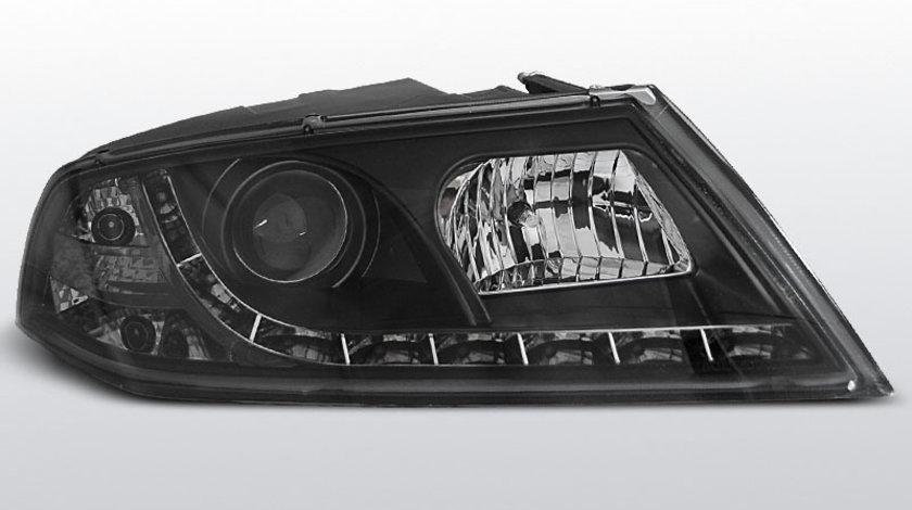 Faruri Skoda Octavia 2 04- 08 Daylight Negru