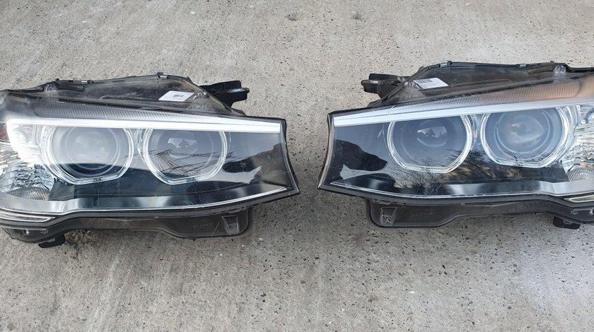 Faruri stanga dreapta Xenon BMW X3 F25 LCI X4 F26 2014 2015 2016 2017