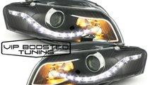Faruri TUNING BIXENON LED DRL Xenon Look  AUDI A4 ...