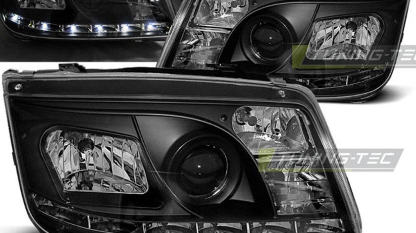 Faruri VW BORA 1998-2005 Daylight negru