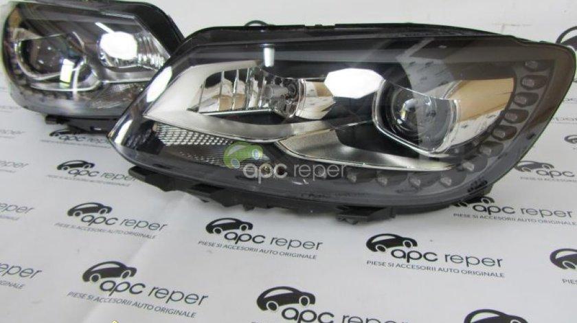 Faruri VW Caddy 2013 Bi xenon Adaptive LED Originale Complete