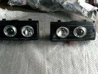 Faruri VW Corrado Angel Eyes Negru Black LICHIDARE STOC!! 200 LEI/SET