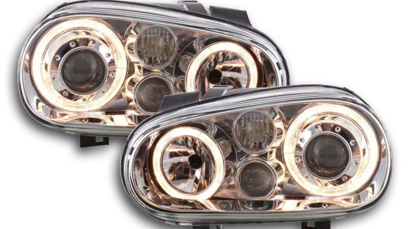 Faruri VW Golf 4 angel eyes