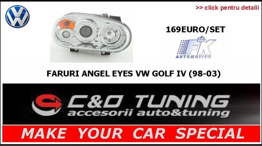 Faruri Vw Golf 4 - Faruri Angel Eyes Vw Golf 4