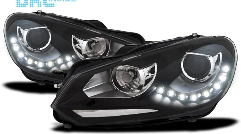 Faruri VW GOLF 6 GTI LED DRL