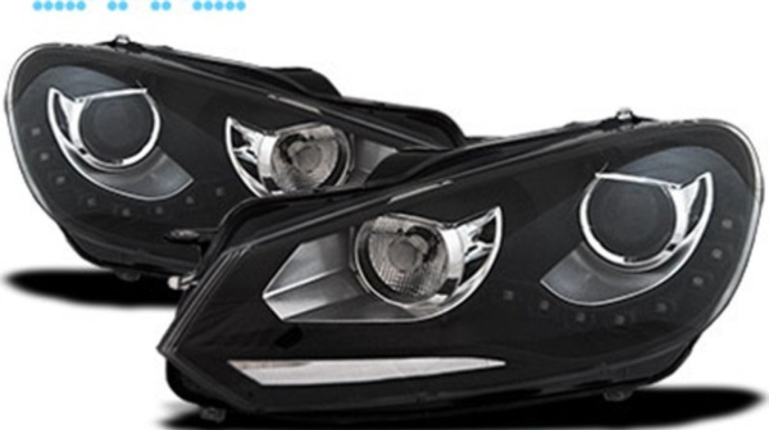 Faruri VW GOLF 6 GTI LED DRL