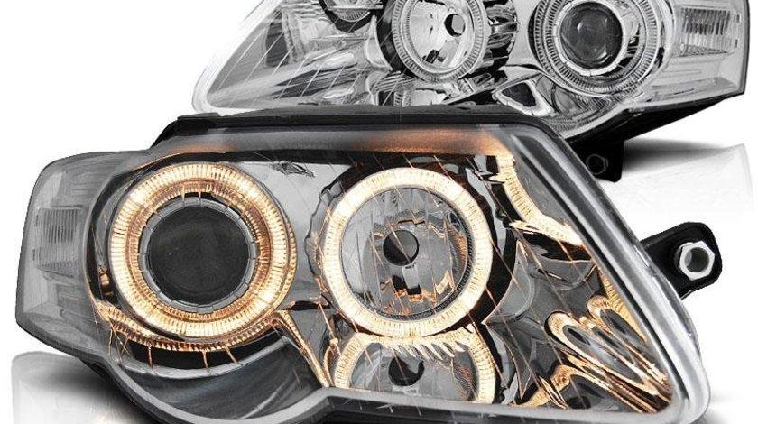 Faruri VW Passat 3C (angel eyes)